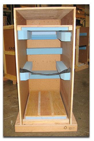 wood corrugated crates