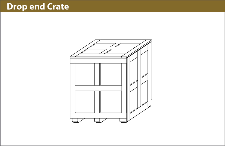 Drop End Crate