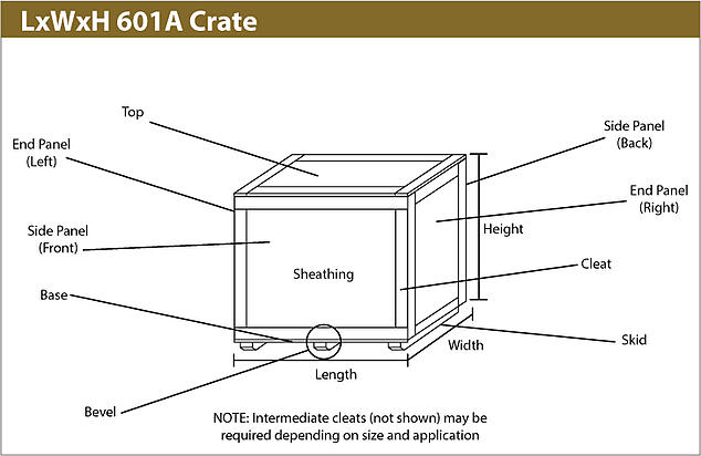 Wooden Crate 601A